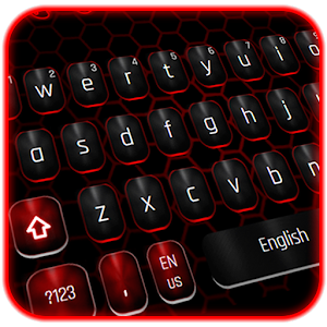 Classic Black Red Keyboard on PC (Windows / MAC)