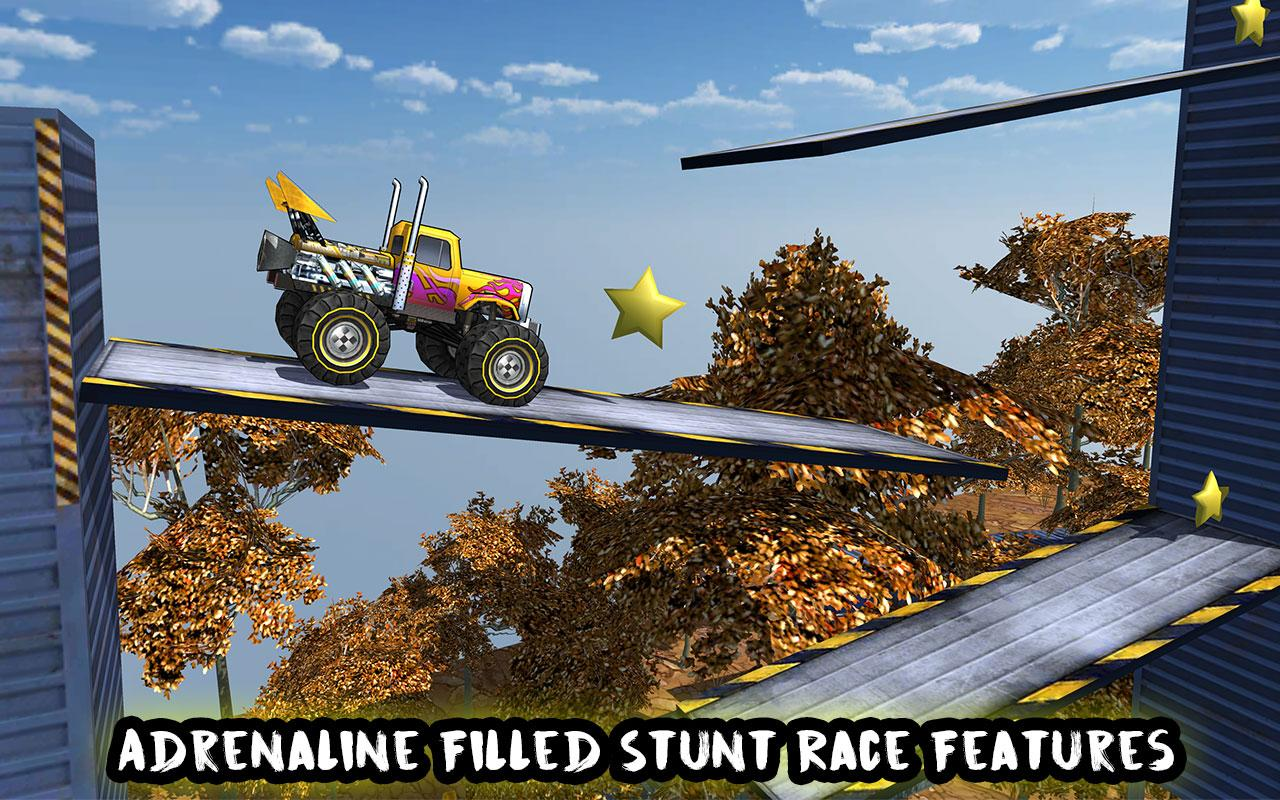 Crazy Monster Bus Stunt Race Screenshot 0