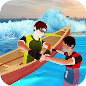 Free Water Boat Rescue Drive APK for Windows 8