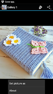 Crochet Pattern Book Cover - screenshot