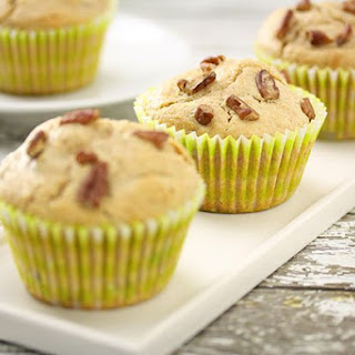 Roasted Pecan & Honey Muffins