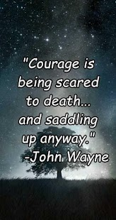 Courage Quotes - images - screenshot