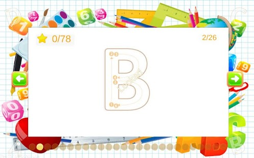 ABC Alphabet Writing - screenshot
