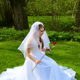 by Dennis Robertson - Wedding Bride