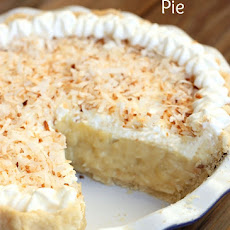 Delicious Coconut Cream Pie