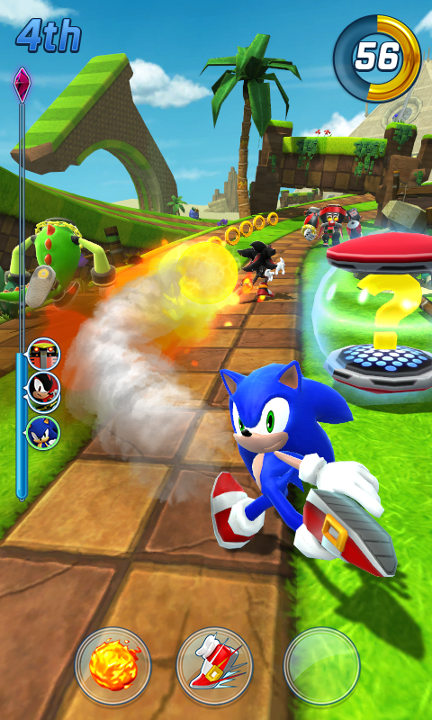 Sonic Forces: Speed Battle Screenshot 2