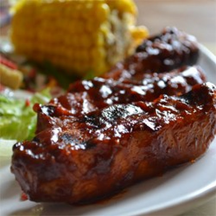 Simple Barbeque Ribs