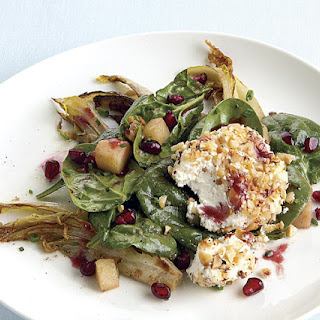 Endive and Apple Salad with Warm Goat Cheese