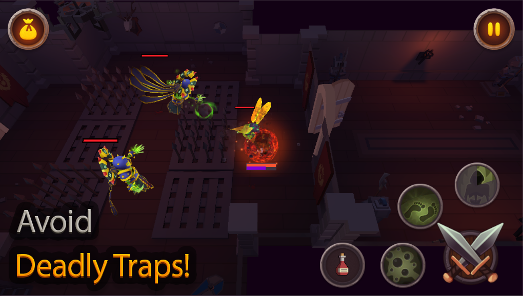 King of Raids: Magic Dungeons Screenshot 1