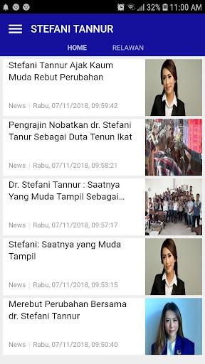 STEFANI TANNUR - Coblos Nomor 2 screenshot 2