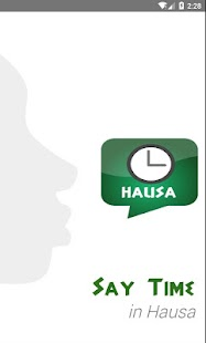 Say time in Hausa (FREE) - screenshot