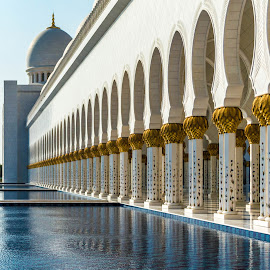 The Grand Mosque by Tyler Armstrong - Buildings & Architecture Public & Historical ( grand mosque, symmetry, architecture, pillars )
