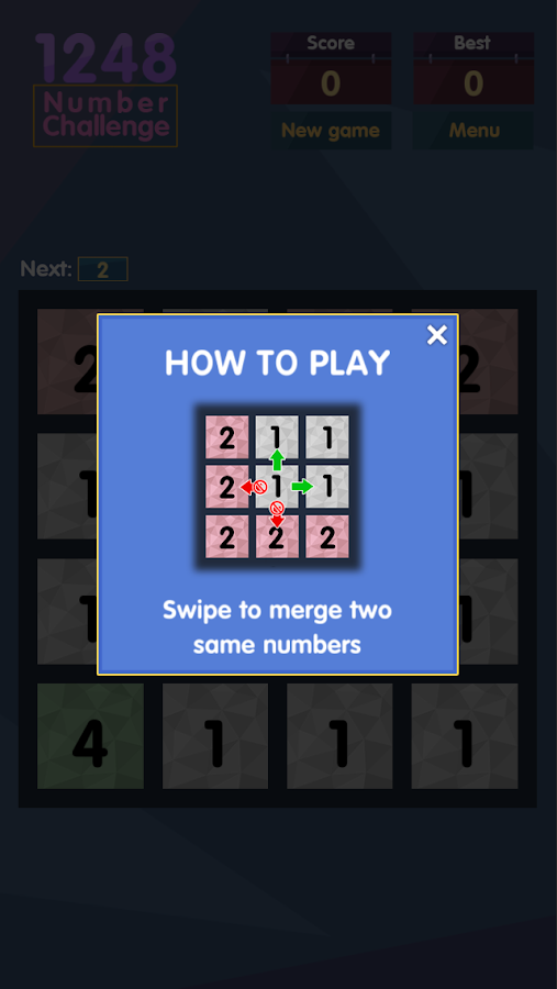 1248 - Number Challenge Screenshot 1