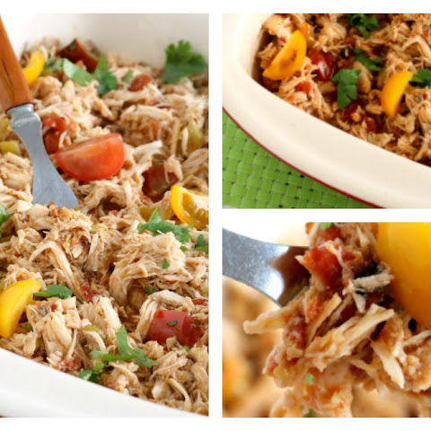 Crock Pot Shredded Mexican Chicken