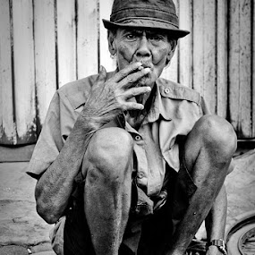 Old by Juang Rahmadillah - People Portraits of Men