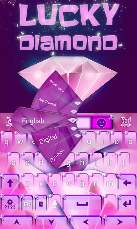 Lucky-Diamond-GO-Keyboard 10