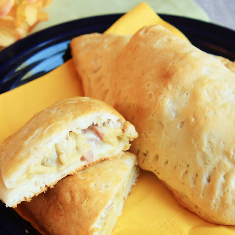 Chicken Cordon Bleu Pockets