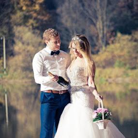 K&N by Vlada Jovic - Wedding Bride & Groom ( love, prewedding, happy, bride and groom, bride, photography, photooftheday )