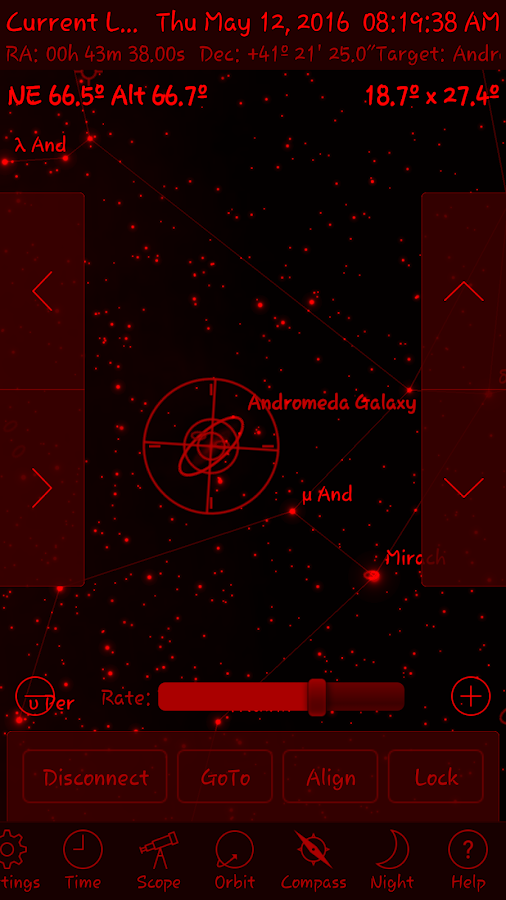 StellaAccess Planetarium Screenshot 5
