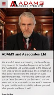 ADAMS and ASSOC App - screenshot
