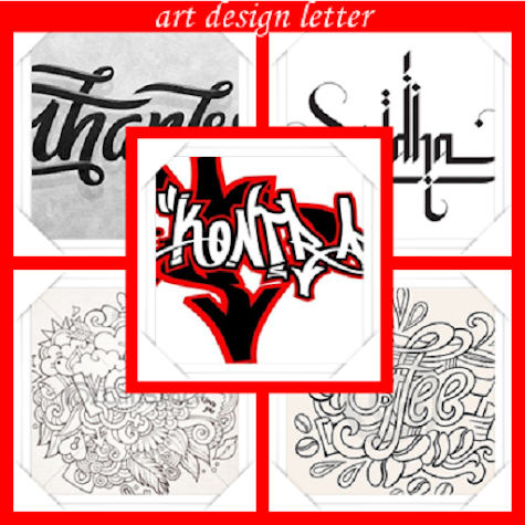 art design letter Screenshot