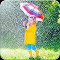 Rain Photo Frame APK for Bluestacks