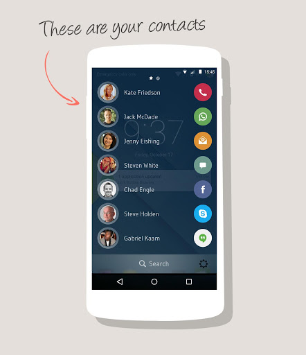 drupe – Contacts. Your way. Screenshot