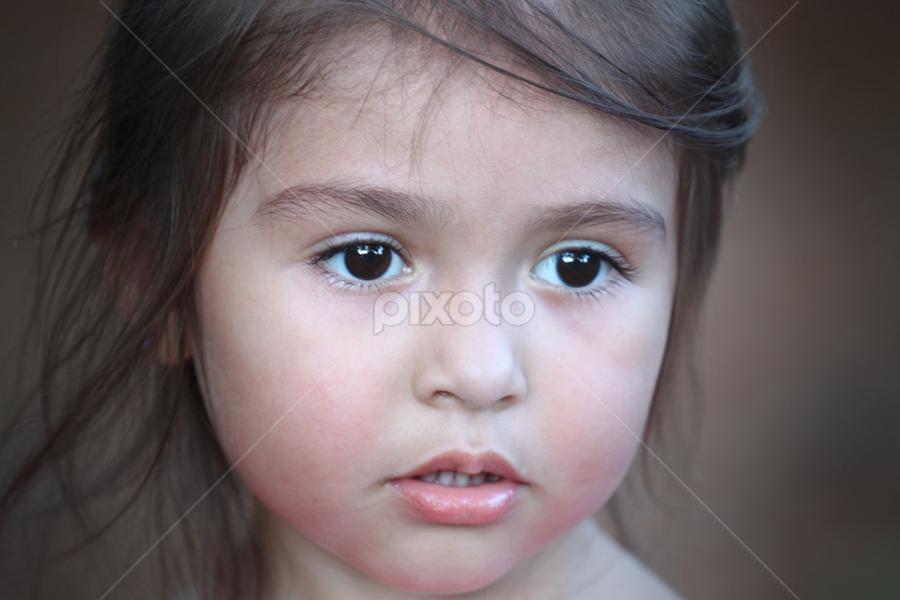 ...Wondering by Ivy Luna - Babies & Children Child Portraits ( #child, #child portrait, #girl, #lovely eyes, #soulful eyes )
