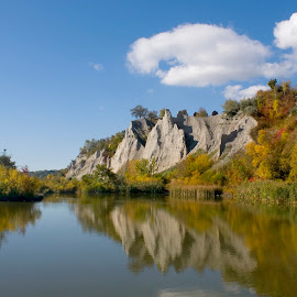 Scarborough Bluffs by Carl Chalupa - Landscapes Mountains & Hills ( scarborough, bluffs, cliffs, scarborough bluffs )