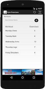 Gym Exercises- screenshot