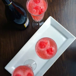 Raspberry-Ginger Bellini