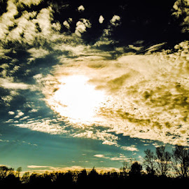 Sun by Amanda Burton - Landscapes Cloud Formations ( clouds, sky, nature, sunset )