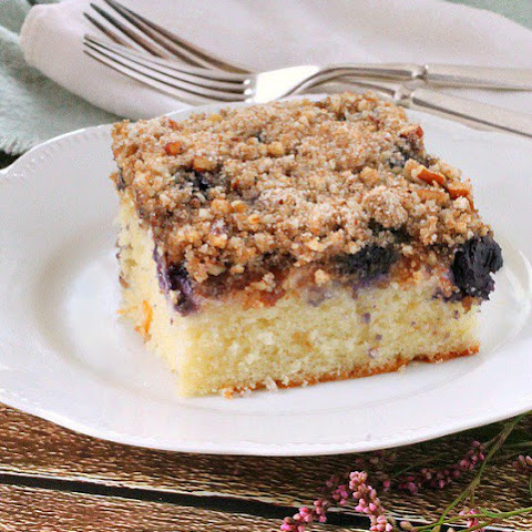 Blueberry Cottage Cheese Coffee Cake