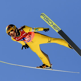 Noriaki Kasai - Forever Young by Igor Martinšek - Sports & Fitness Snow Sports ( noriaki kasai, planica slovenia, ski flying, fischer ski, fis ski jumping world cup, mizuno )