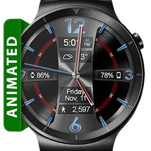 Avionic Depth HD Watch Face APK Cracked Download