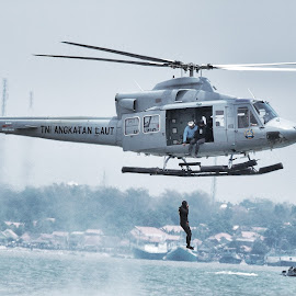 The Rescue... by Fuad Arief - Transportation Helicopters