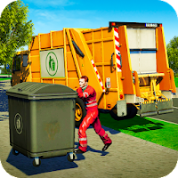 Garbage Truck - City Trash Cleaning Simulator For PC