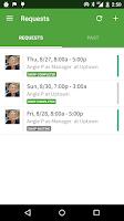 Screenshot of When I Work Scheduling