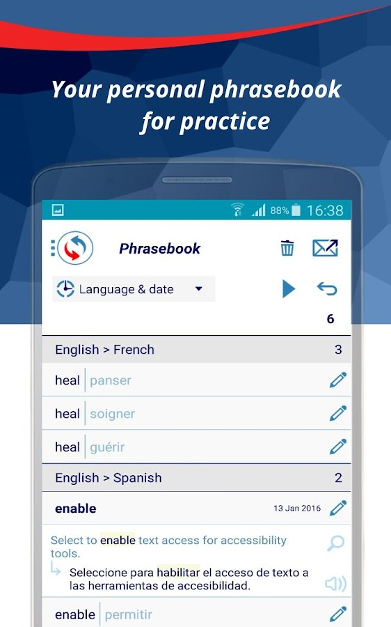 Reverso Translation Dictionary Screenshot 5