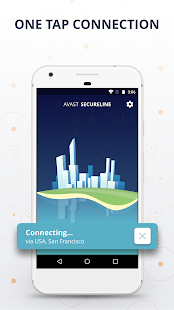 VPN SecureLine by Avast - Unlimited Security Proxy Screenshot
