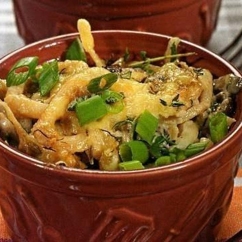 Julienne Of Mushrooms With Squid