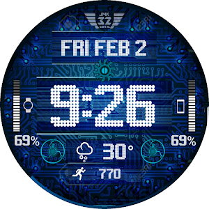 Download CIRCUITS Watchface for WatchMaker For PC Windows and Mac