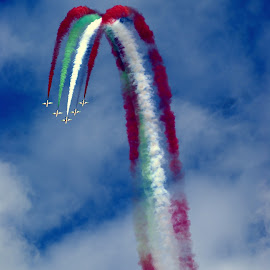 High Arch by Craig Hicks - Transportation Airplanes ( areoplanes, aircraft, air display, airshow )