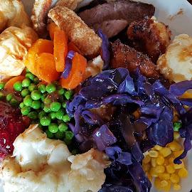 Carvery by Ingrid Anderson-Riley - Food & Drink Plated Food