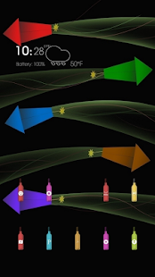 Cute and colorful firecrackers - screenshot