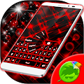Red Keyboard APK for Bluestacks
