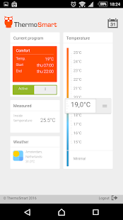 ThermoSmart - screenshot