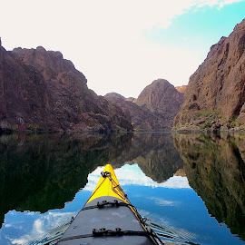 Kayaking the Colorado River by Tyrell Heaton - Instagram & Mobile Other