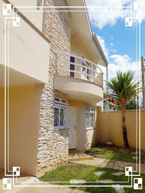 SO0030-CST, Sobrado de 3 quartos, 134 m² à venda no São Braz - Curitiba/PR
