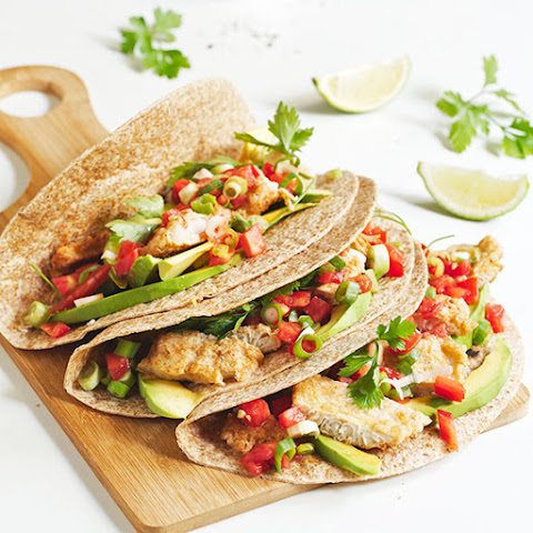 Paleo Fish Tacos with Homemade Tortillas